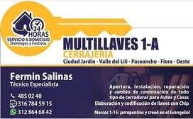 Multillaves 1-A