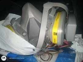 respirador 3M media cara con pre filtros