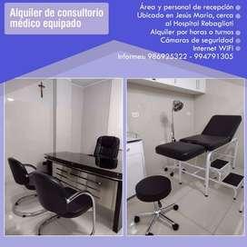 Alquiler de Consultorio Médico