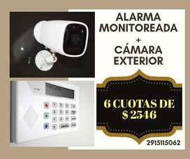 Servicio Alarmas MONITOREADAS