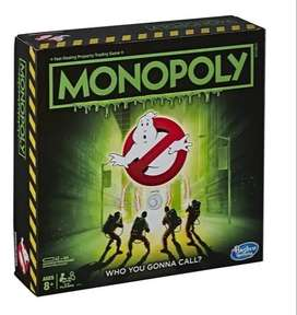 Monopoly Cazafantasmas Ghostbusters, Familiar En Español