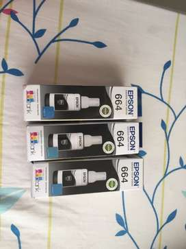Vendo tintas Epson 100% originales solo color negro