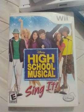 High school musical sing it (usado) Original nintendo Wii