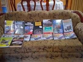 Libros de tecnología automotriz e inyección electrónica a gasolina