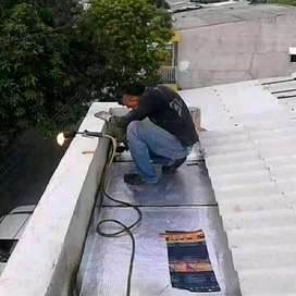 Reparaciones techos.azoteas y mucho mas