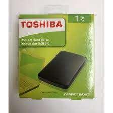 DISCO DURO EXTERNO 1 TB TOSHIBA