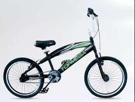 Bicicleta Bmx Freestyle Top Mega Tatoo R20 48 Rayos