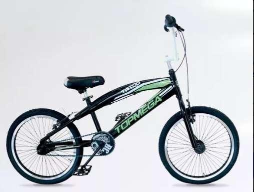 Bicicleta Bmx Freestyle Top Mega Tatoo R20 48 Rayos 0