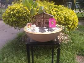 "Mini jardín ""cabaña"""