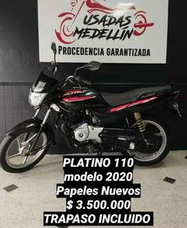Platino 110 2020 ( boxer ct discover 100 tvs 100 libero 110)