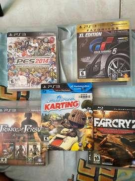 Venta de juegos originales para  PS3