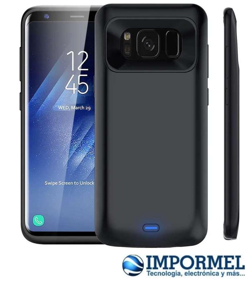Estuche Bateria Externa Case Samsung Galaxy S8 0