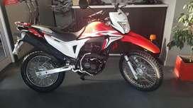 Honda Xr 190L 0km BONIFICADA!!!  Masera Motos