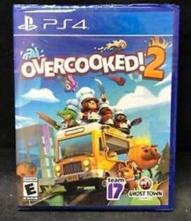 Overcooked 2 PS4 nuevo y sellado