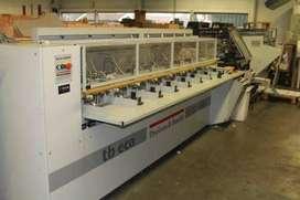 Vendo maquina revistera, compagina, engrapadora, refila el producto final de marca theisen y Bonitz tb eco 308