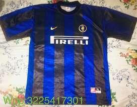 CAMISETA ORIGINAL INTER DE MILAN AÑO 2000