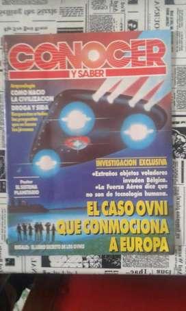 Revista Conocer Y Saber Numero 34 Año 1991