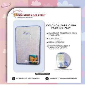 COLCHON CUNA IMPORTADA Packing Play