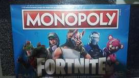 Monopoly  Fortnite  nuevo sin estrenar