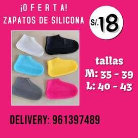 ZAPATOS DE SILICONA