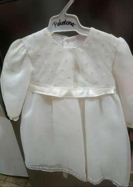 Vestido Blanco para Beba