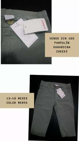 Cheeky gabardina color menta SIN USO