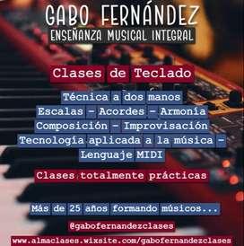 Clases de Teclado Online y en Caballito (Capital Federal)
