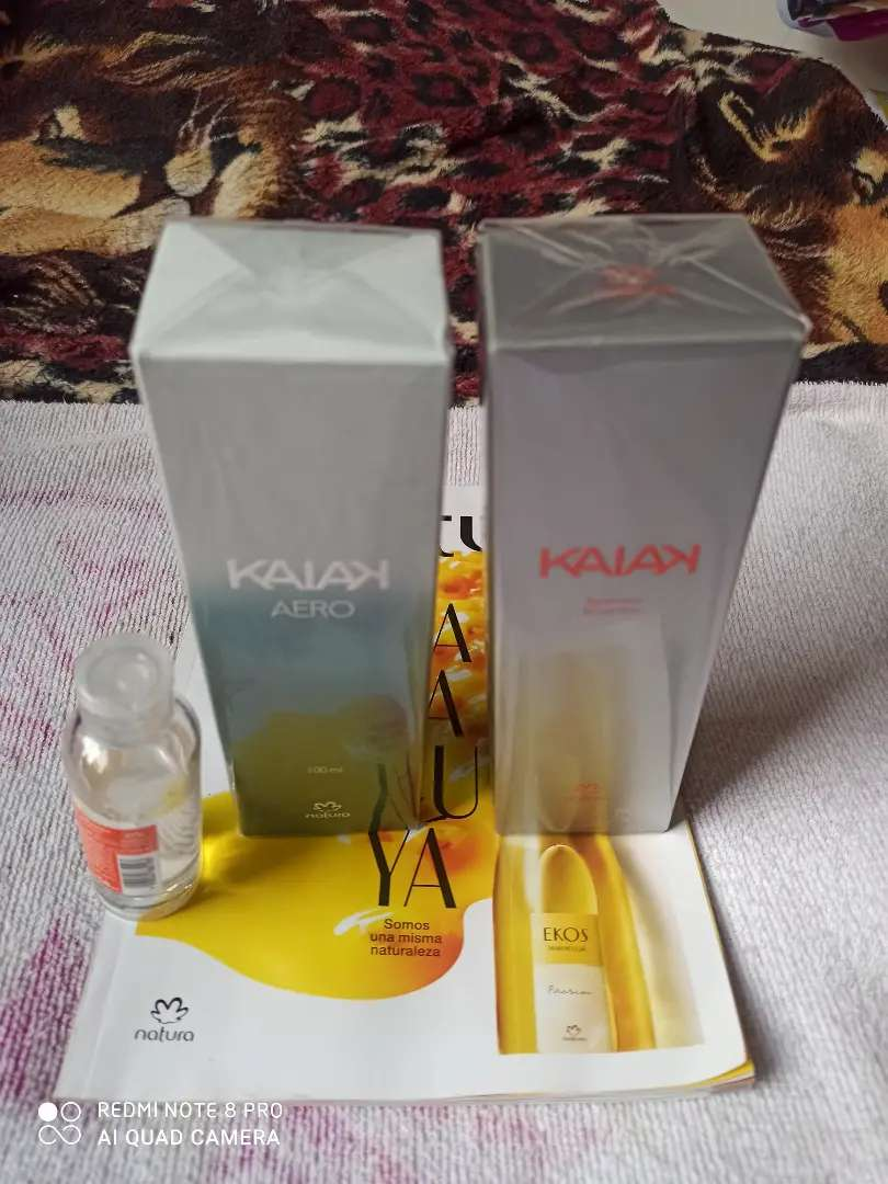 Dos perfumes originales gratis gel 0
