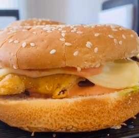 Deliciosos sandwich surtidos