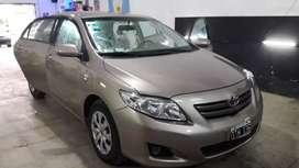 Toyota Corolla Xli 2010 C/80000 km nada para hacer, cubiertas Michelín auxilio sin rodar, mayoría de km en ruta. Joya