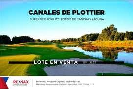 TERRENO EN VENTA CANALES DE PLOTTIER 1.090M2