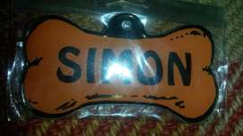 Llavero Para Mascota Perrito Simon
