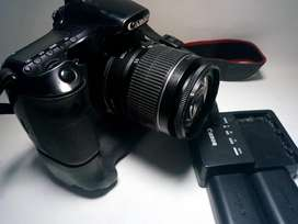 Camara Réflex Canon 60d 18-55 Baterygrip
