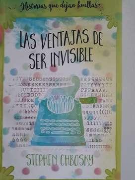 LIBRO LAS VENTAJAS DE SER INVISIBLE de Stephen Chbosky