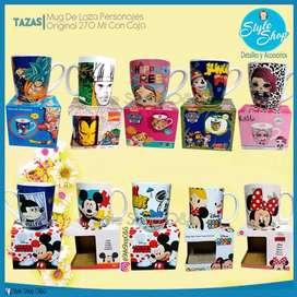 Lindas Tazas De Loza Minnie Original + Caja