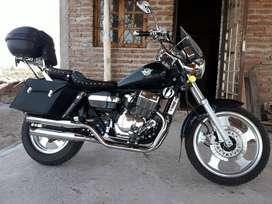 Moto Chope mondial 254. Titular