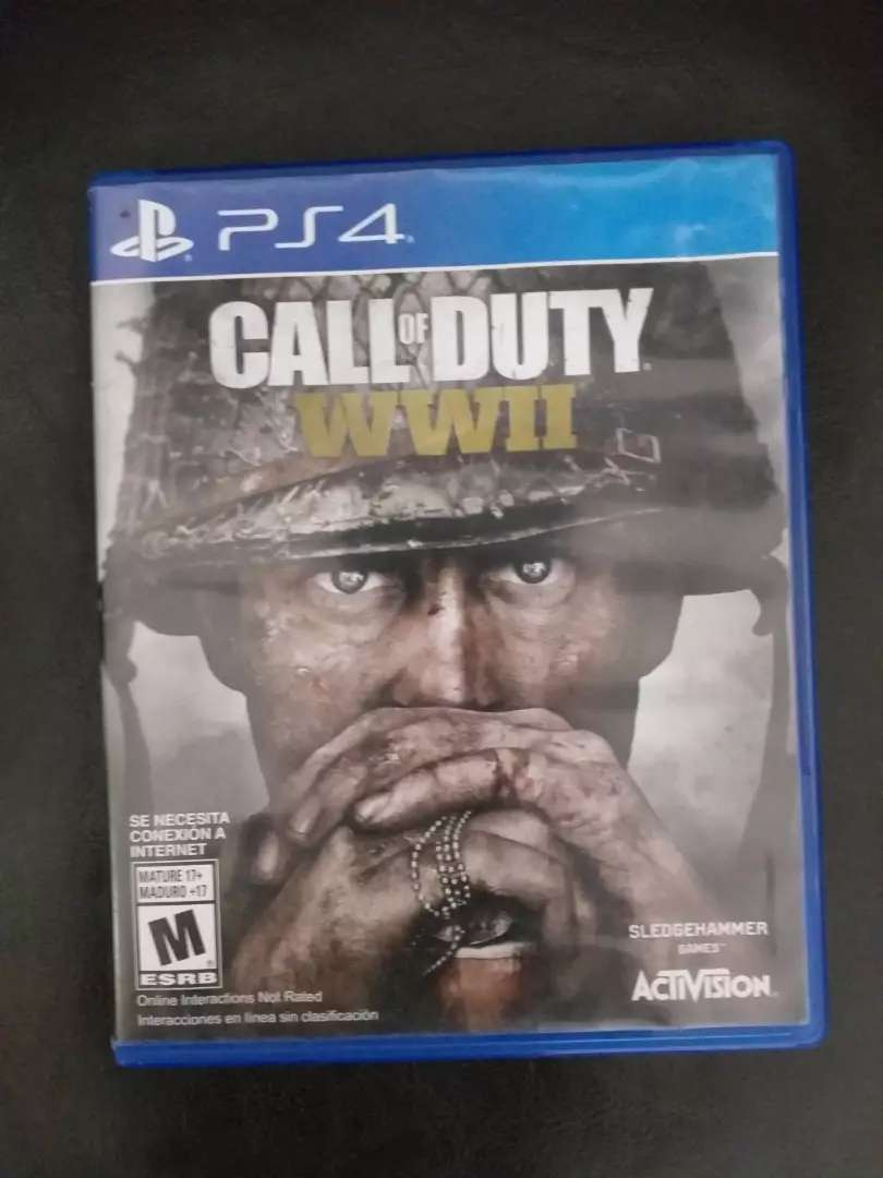CALL OF DUTY WWII PLAYSTATION 4 0