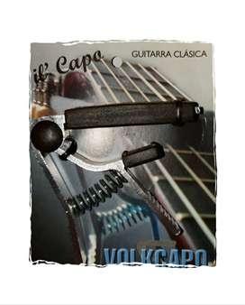 Capotraste Transporte Guitarra Clasica Criolla Volkapo