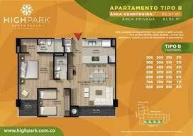 HIGH PARK Apartamento en SANTA PAULA, Bogotá D.C.