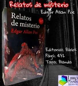 Relatos de misterio. Edgar Allan Poe. Biblok