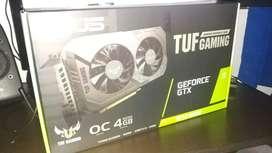 Tarjeta de video Asus GTX 1650 Super OC Nueva