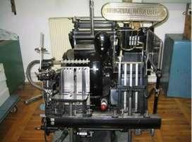 Máquina de impresión Heidelberg