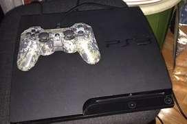 Playstation 3 Slim 160 Gigas C/3 Juegos y Mando