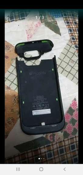 Batería carcasa protectora para Samsung S6. Excelente estado. Banco de energía para 2 cargas y protege el celu. segunda mano  Posadas, Misiones