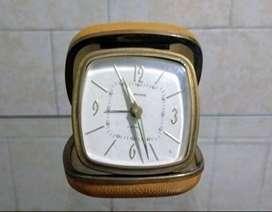 Antiguo Reloj  De Viajero Europa Germany 2 Jewels