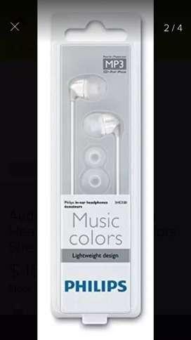 Audífonos originales Philips she358i