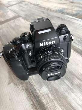 Camara analoga Nikon F4