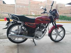 Vendo mi moto ZongsHen Como Nueva