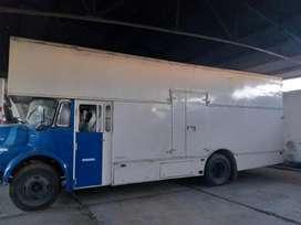 camion 1114 caja metalica mudancera