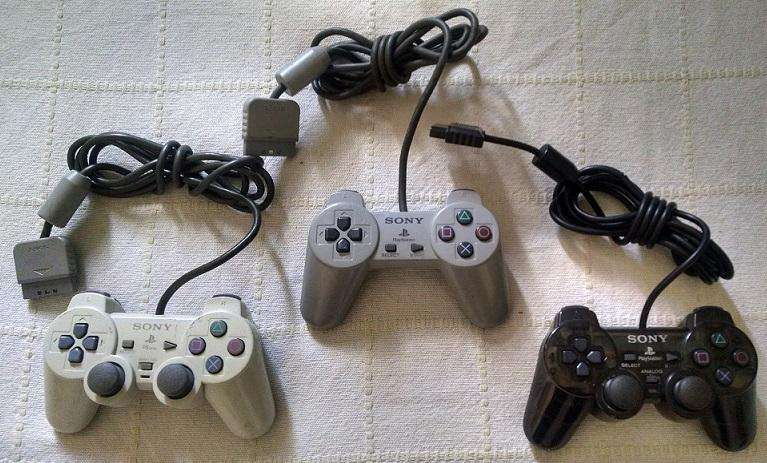 Controles PSX Dual Shock Classic
